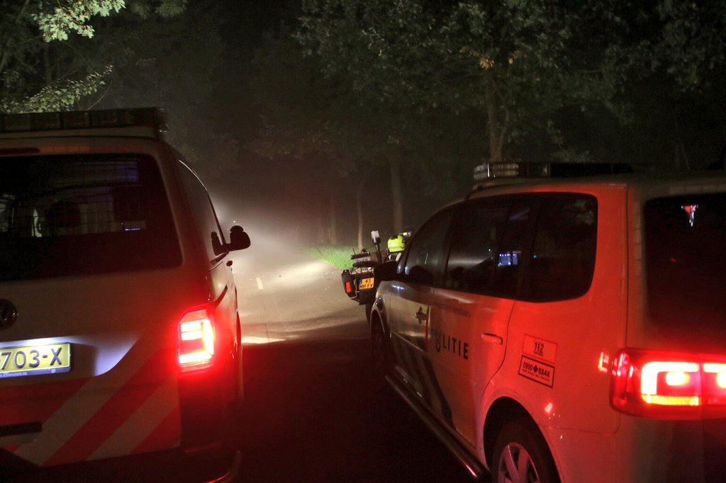 Scooterrijder rijd door na ongeval met fietser in Ureterp