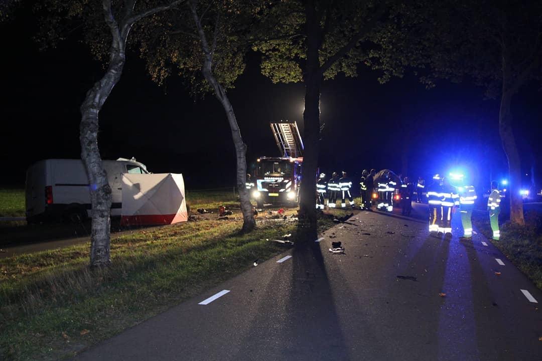 40 jarige inwoner uit de Gemeente Achtkarspelen kom om het leven bij verkeersongeval in Haule