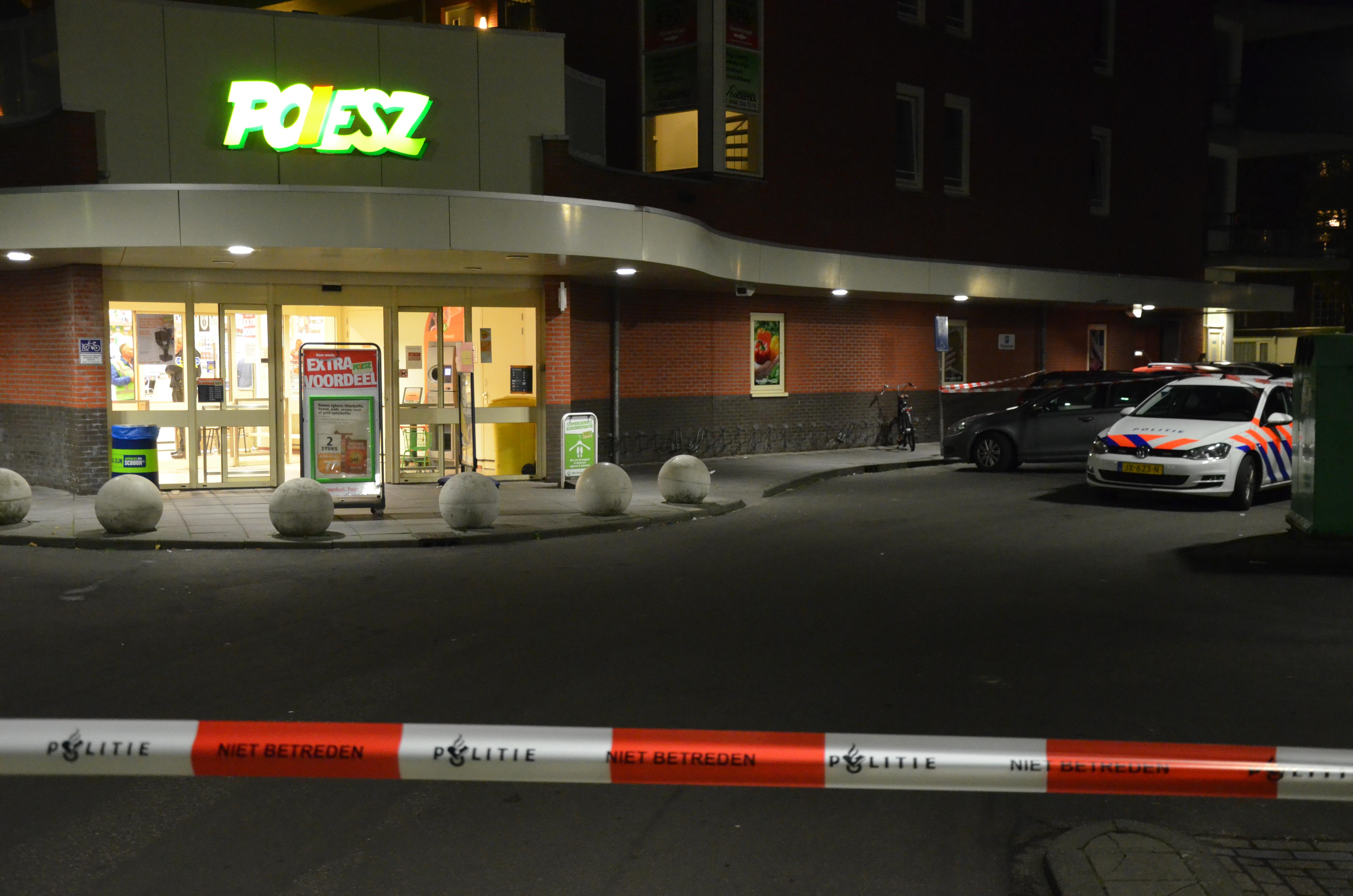 Arrestatieteam heeft  Drie aanhoudingen verricht na Overval op een Supermarkt in Leeuwarden