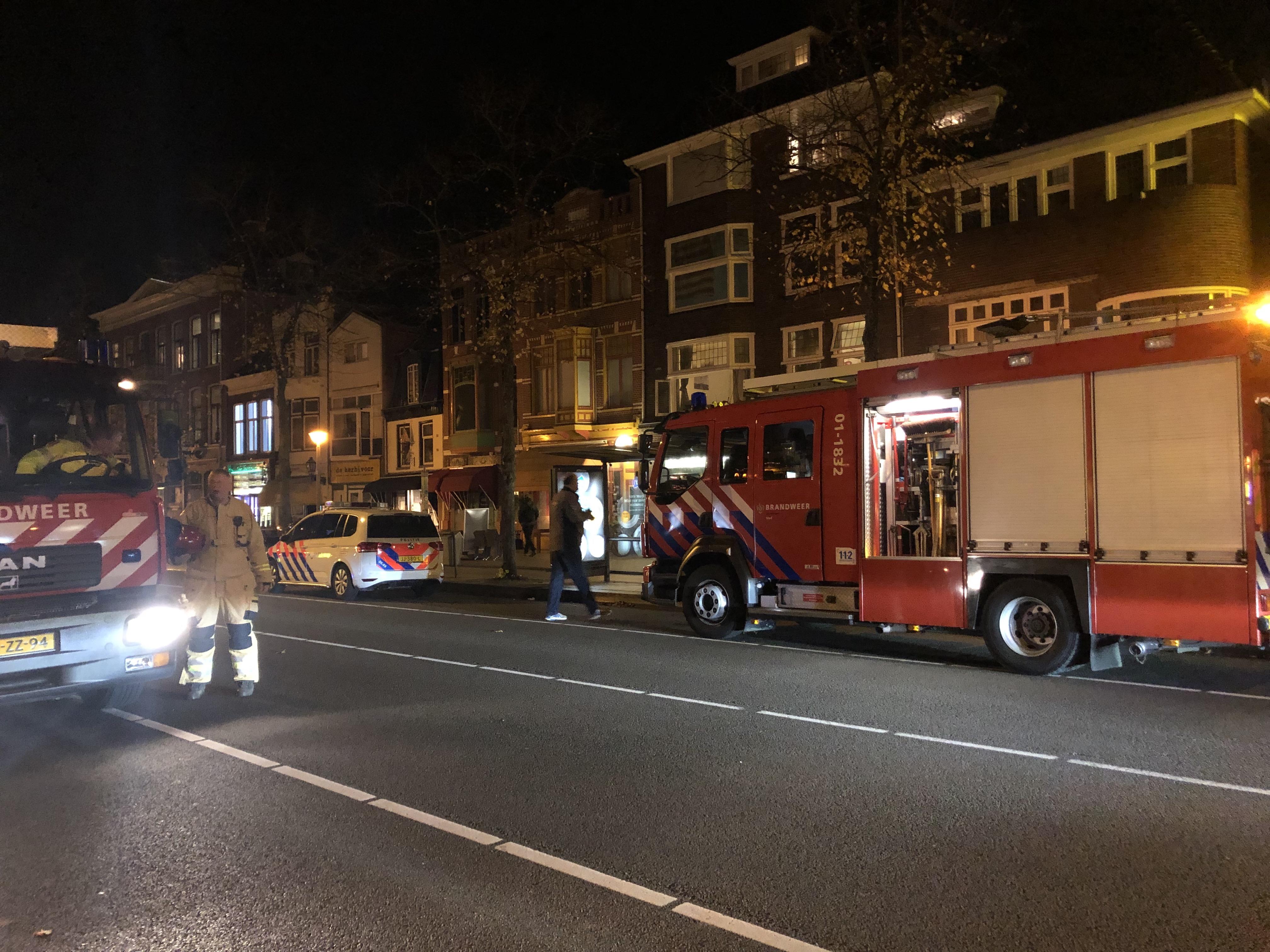Brandweer inzet na Oven brand in Groningen