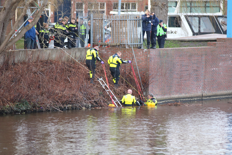 Stoffelijk overschot aangetroffen in het water in Groningen
