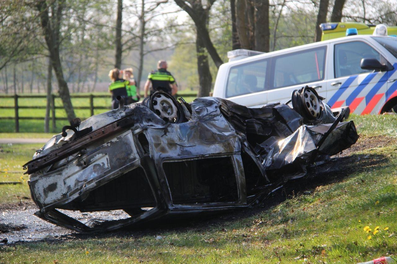 Bestuurder raakt Ernstig gewond na verkeersongeval bij Houtegehage