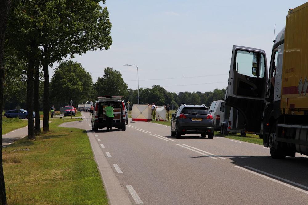 Motorrijder komt om het leven bij ongeval in Gorredijk