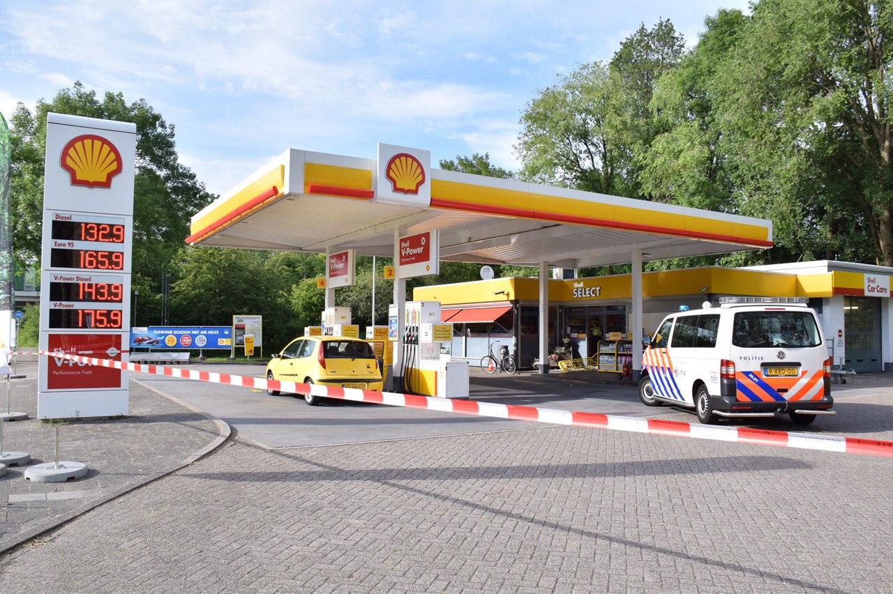 Tankstation de Shell slachtoffer van overval in Groningen