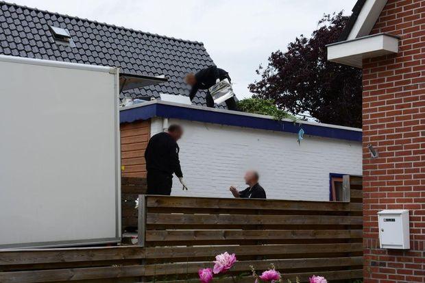 800 hennepplanten aangetroffen bij een woning in Drachten