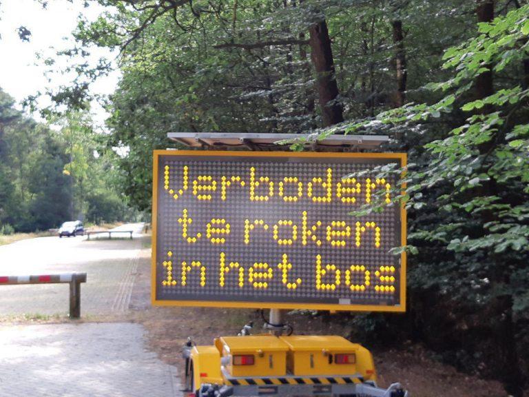 Veiligheidsregio waarschuwt voor risico op natuurband