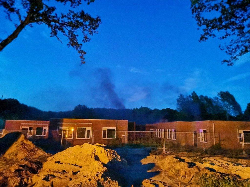 Brandstichting in leegstaande panden van GGZ in Assen