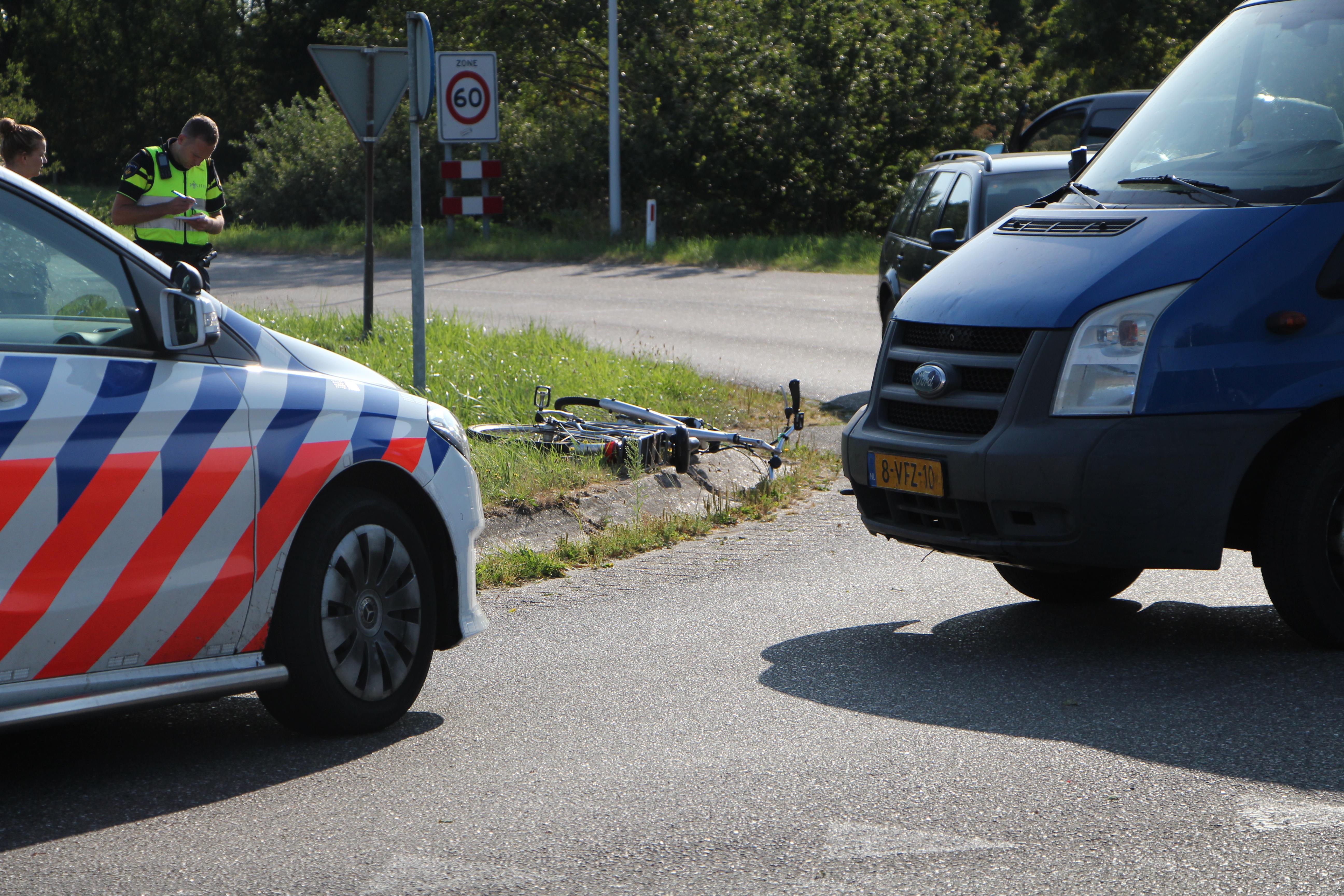 vrouw op een e-bike gewond geraakt bij ongeval