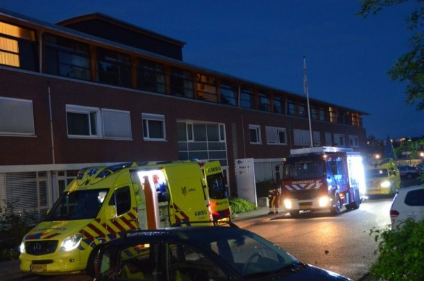 Bewoner gewond bij Brand in Leeuwarden