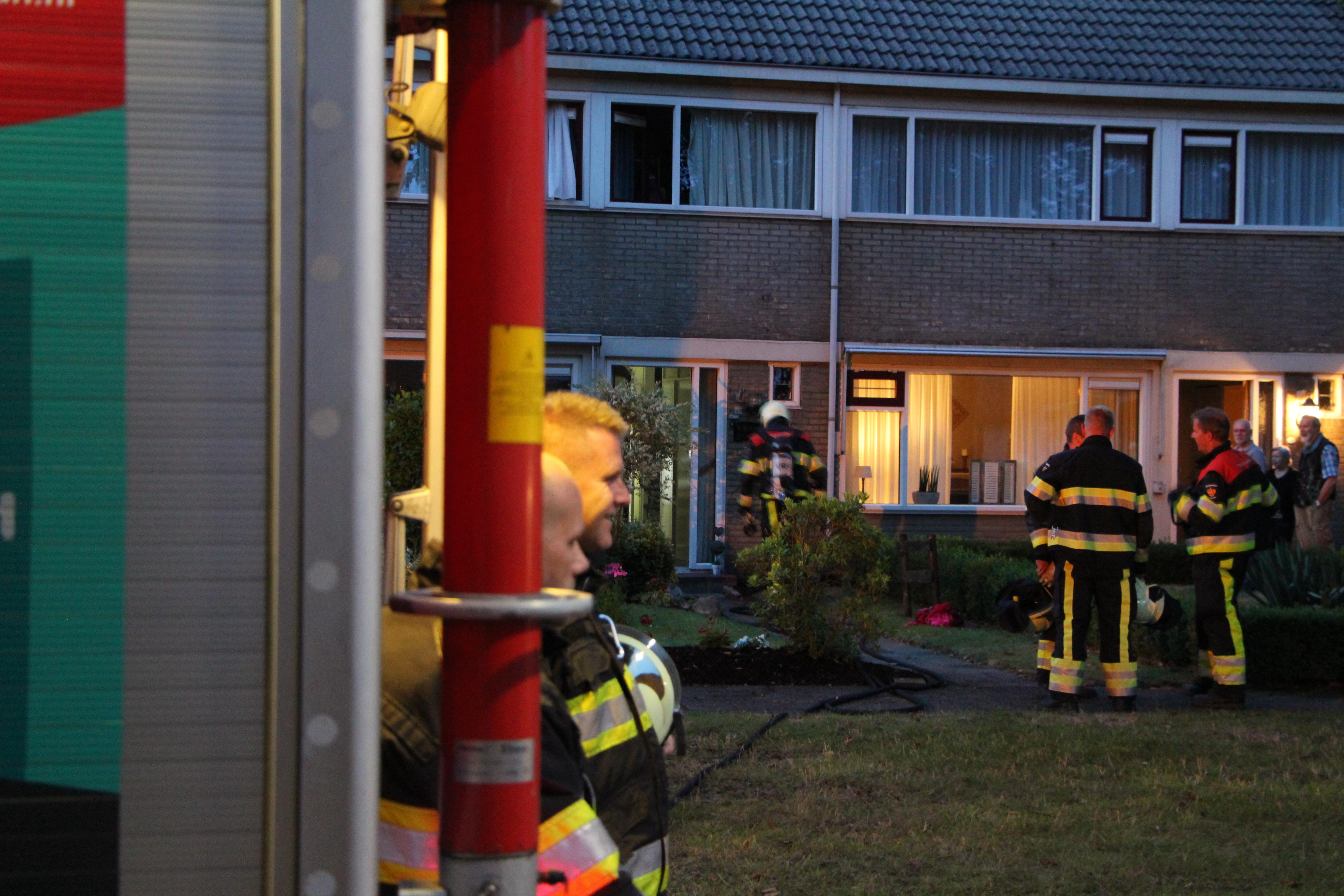 bewoonster gewond bij keuken brand