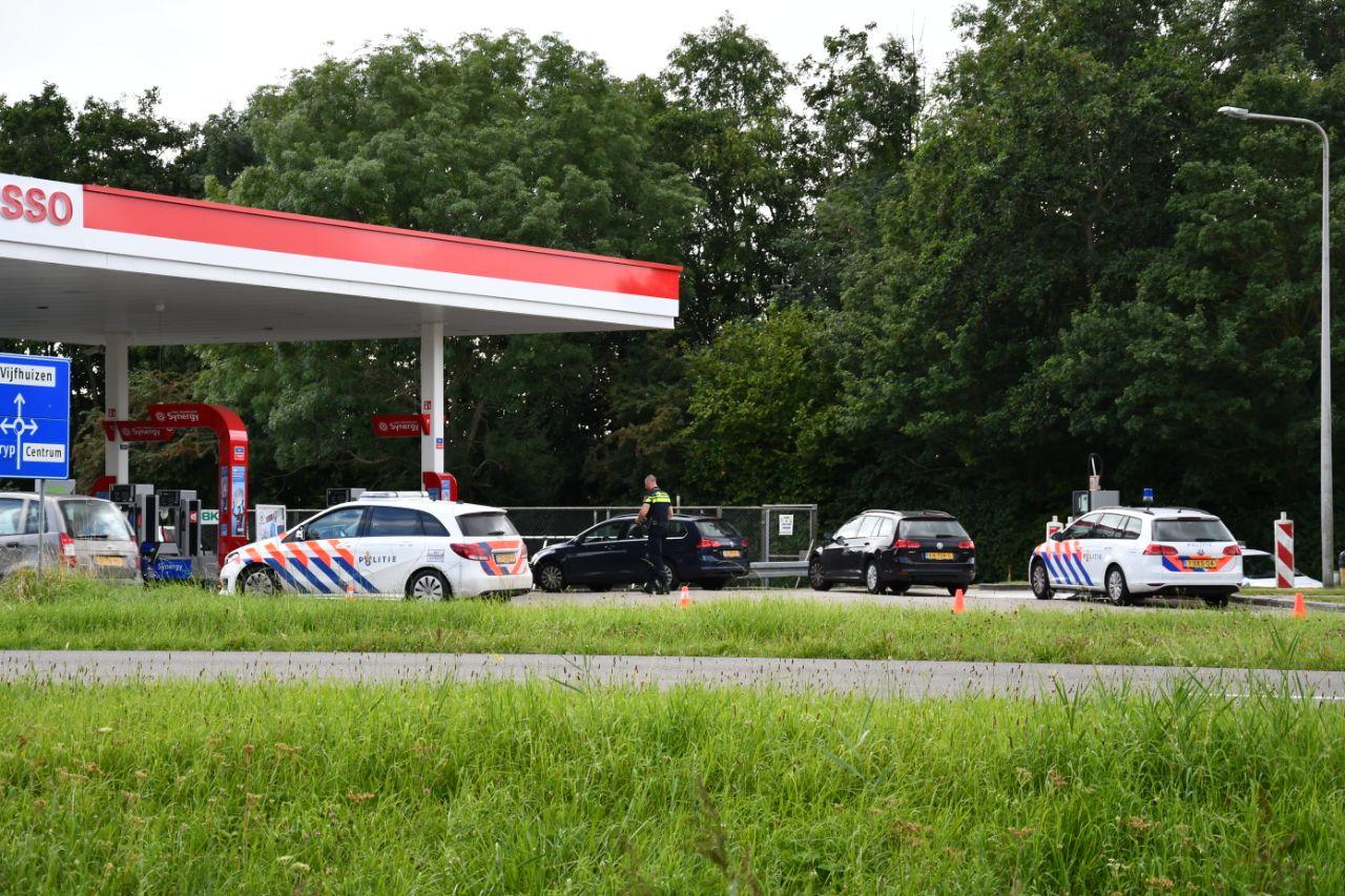 Tankstation Esso in Franeker overvallen