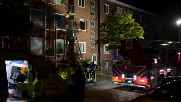 Video Keukenbrand zorgt voor veel schade in woning