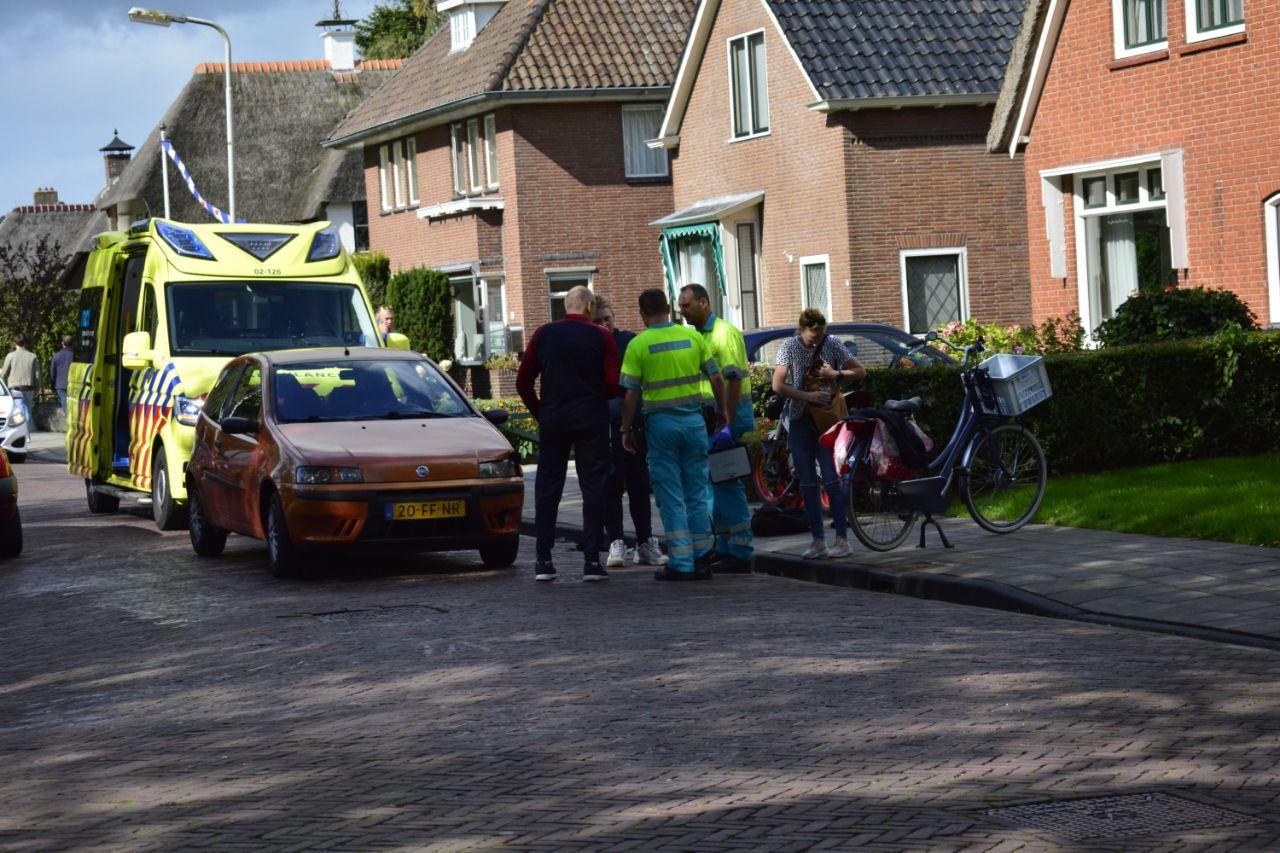 brommerrijder raakt gewond bij aanrijding in Drachten