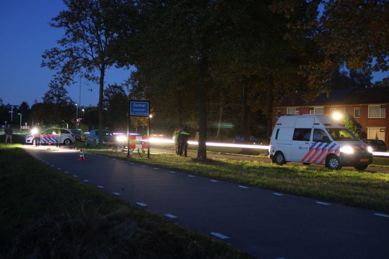 Fietser komt ten val en raakt Ernstige gewond in Surmar