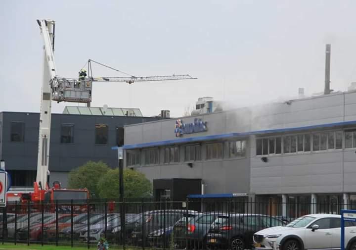 Flinke schade na brand in laboratorium bij Heerenveen