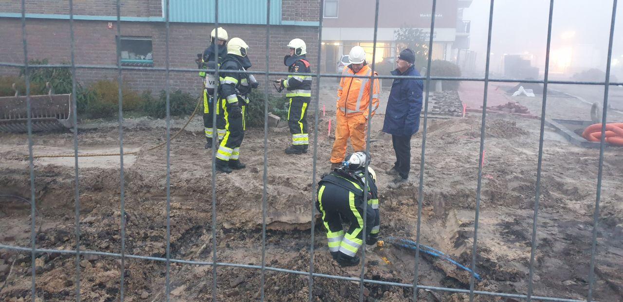 Brandweer rukt uit voor Gaslekkage in Drachten