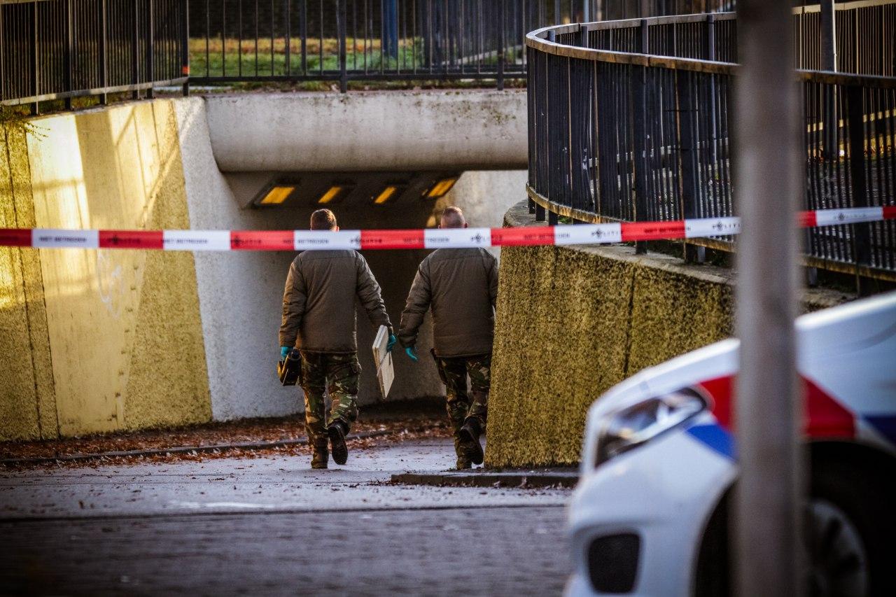 Video Explosieven Opruimingsdienst van Defensie inzet na Rookbom in een fietstunnel in Drachten