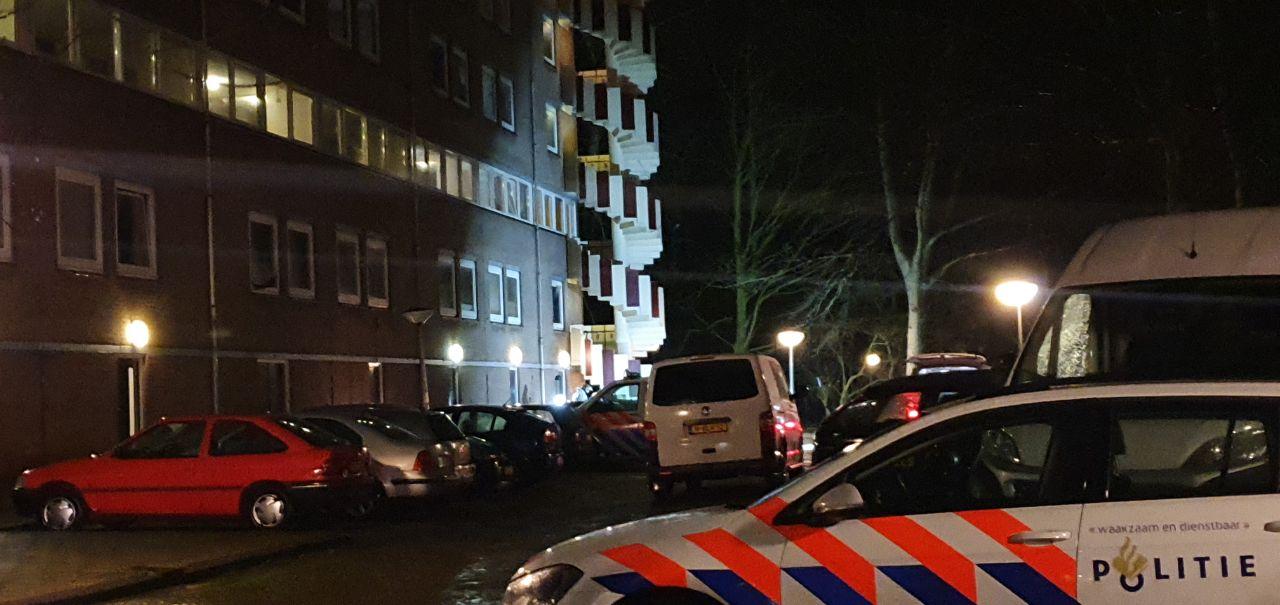 Inbreker valt van dak en komt om het leven in Leeuwarden