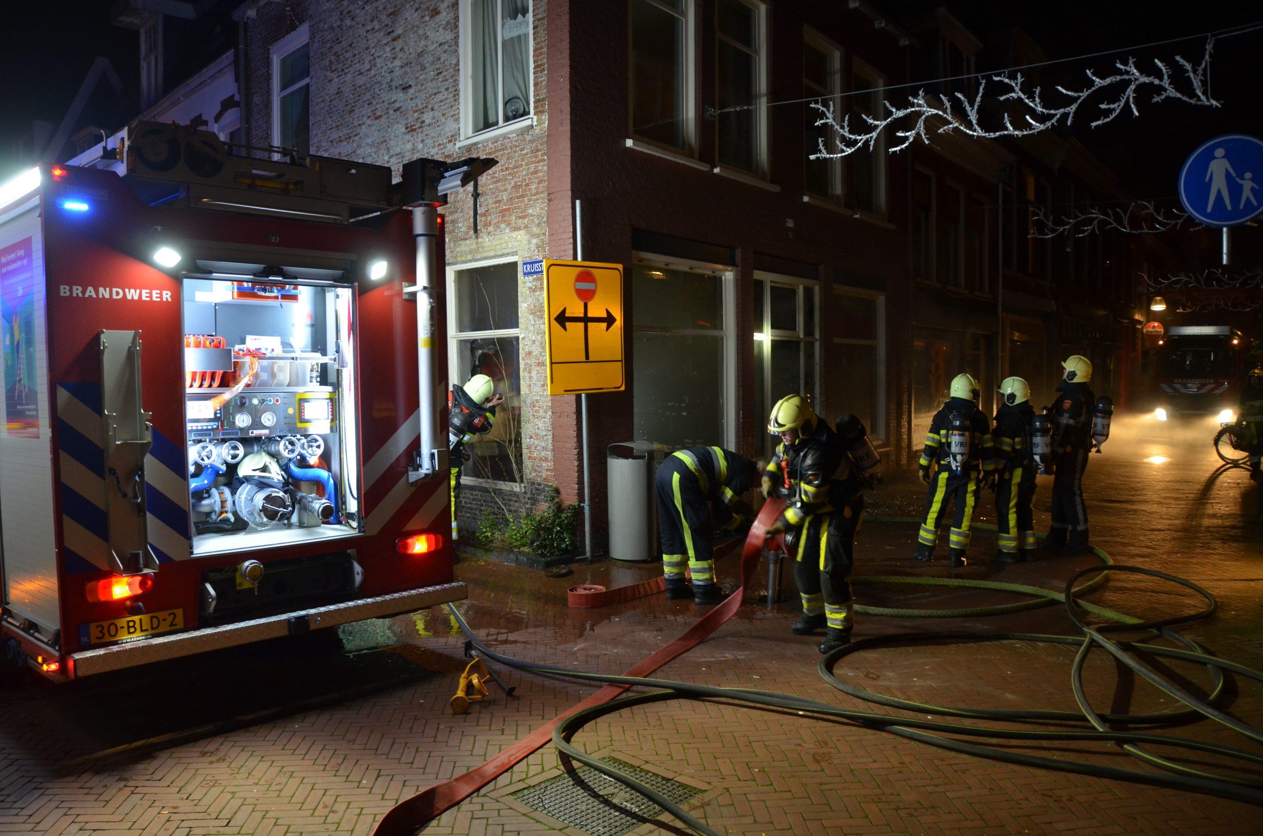 Flinke schade na brand in een Pizzeria in Leeuwarden