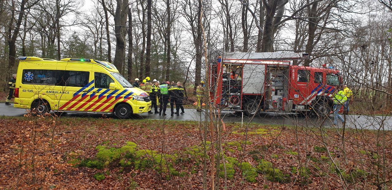 Update; Video Dodelijk verkeersongeval op de Sweachsterwei in Lippenhuizen