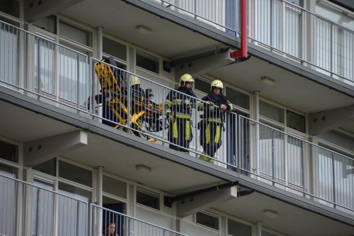 Bewoner raakt gewond na Koolmonoxide vergiftiging flatwoning in Leeuwarden