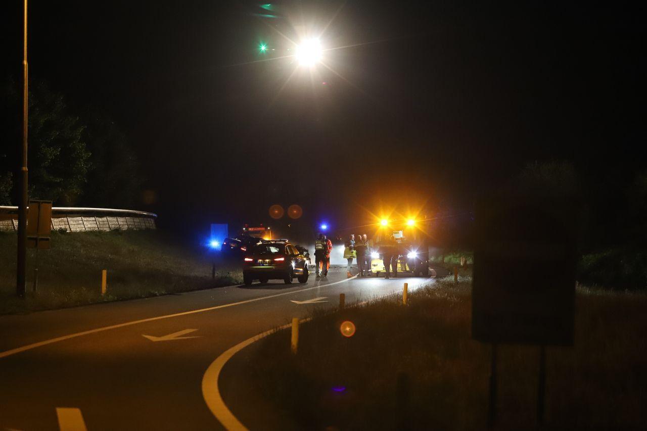 Automobilist raakt zwaargewond na Eenzijdig ongeval op de A32 bij Heerenveen