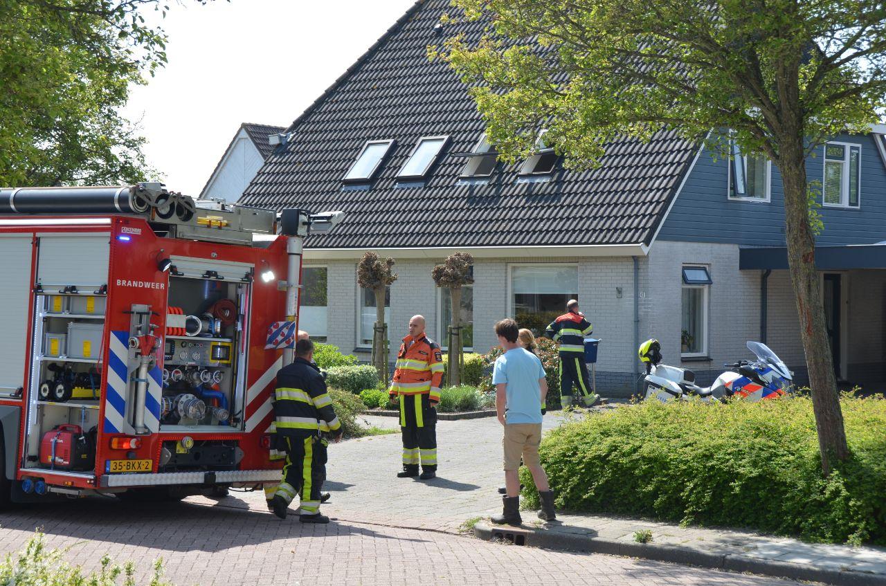 Buurman voorkomt erger bij Dronryp keuken brand