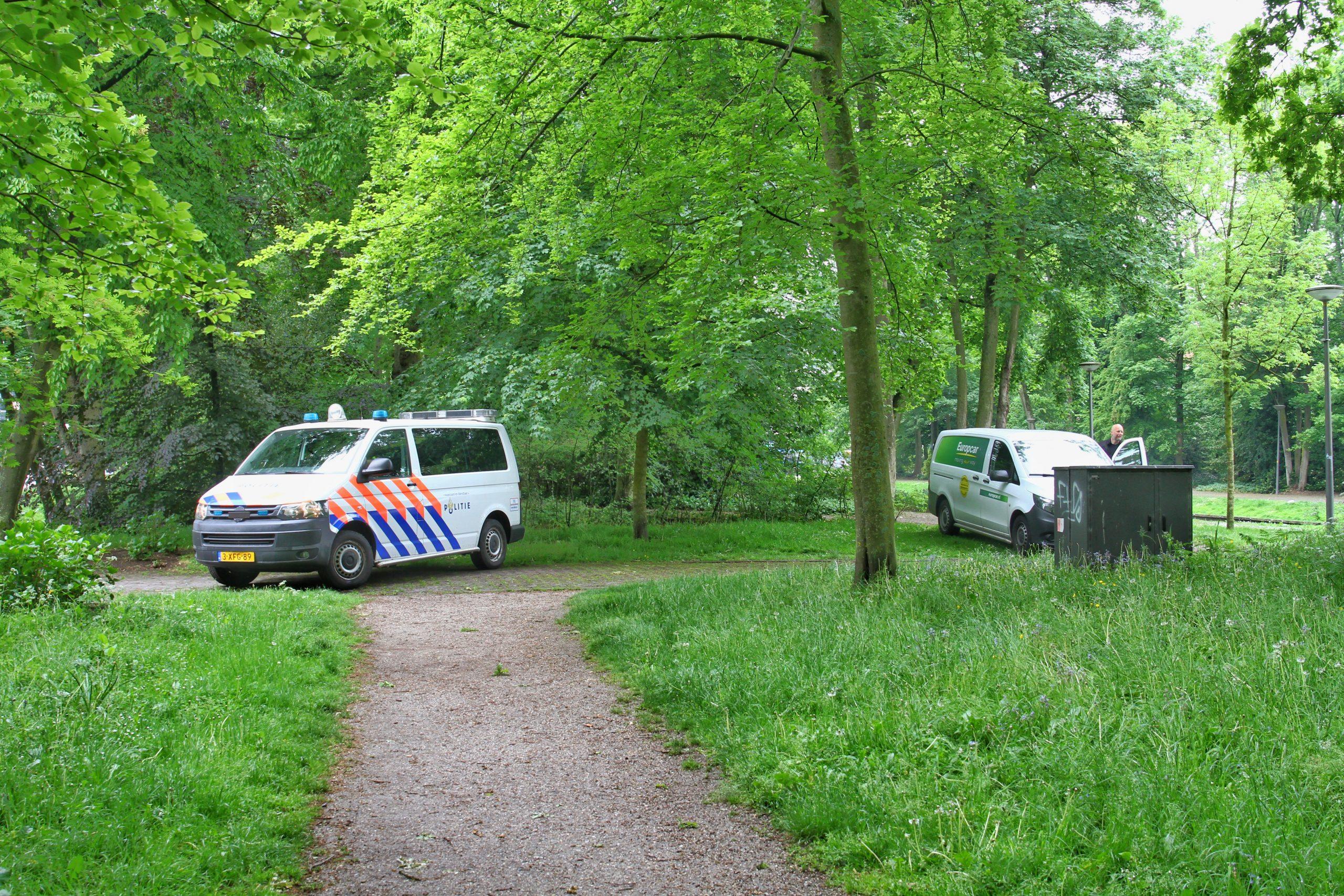 Reidingpark korte tijd afgesloten na onderzoek Brandstichting aan de Berglaan in Drachten