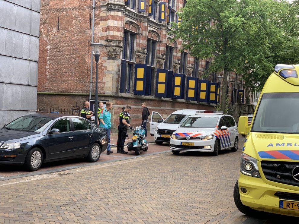 Motorrijder gewond geraakt na ongeval in Leeuwarden
