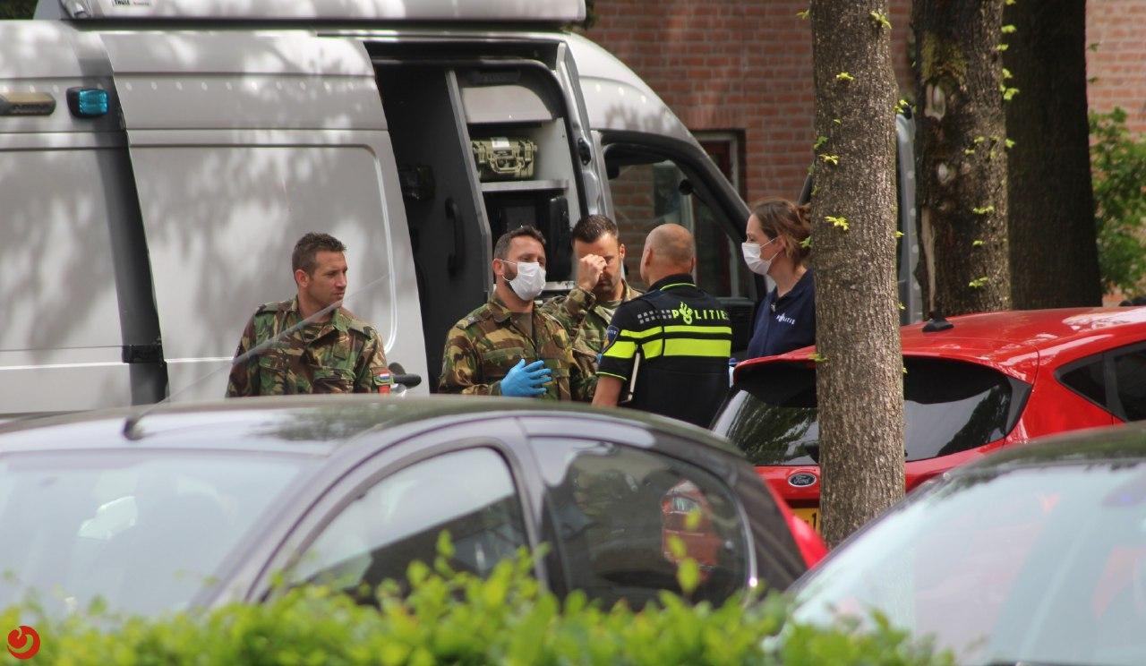 Explosieven opruimingsdienst ingezet voor verdacht pakketje aan de Oldegalileen in Leeuwarden