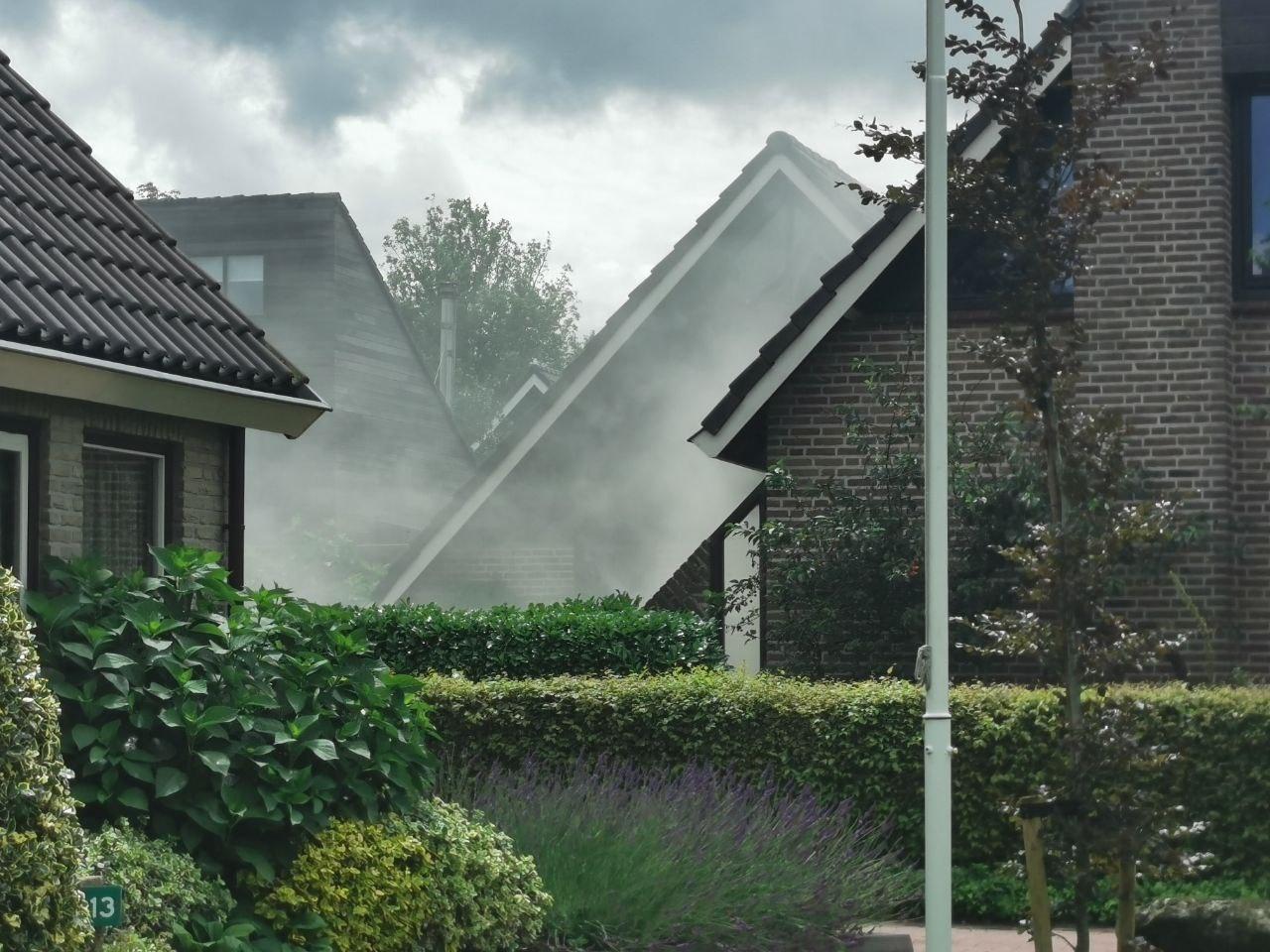 Veel rookontwikkeling na aanleg Vloerisolatie in woning in Buitenpost