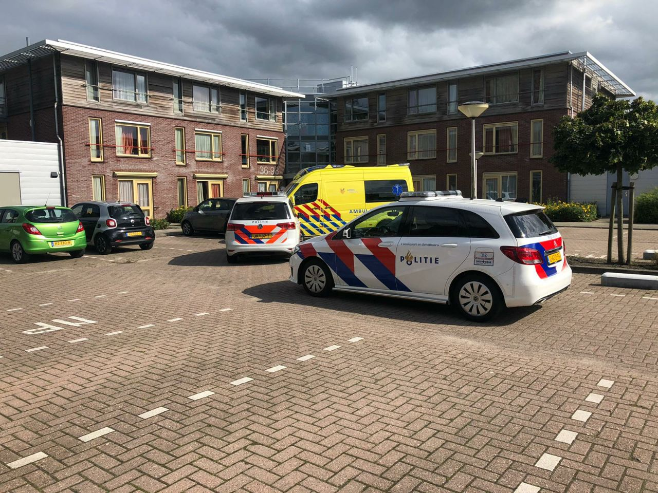 Een gewonde na een steekpartij in Leeuwarden