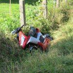 Scooterrijder gewond na aanrijding met auto bij Terwispel