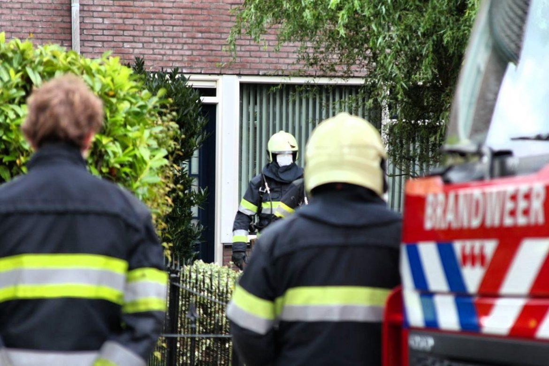 Brandweer rukt uit voor mogelijk koolmonoxide in woning aan de Lidlum in Drachten