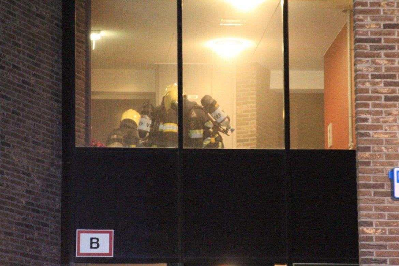 Bewoner valt in slaap, brandweer rukt uit voor rook na pannetje op het vuur aan de Ratelwacht in Drachten