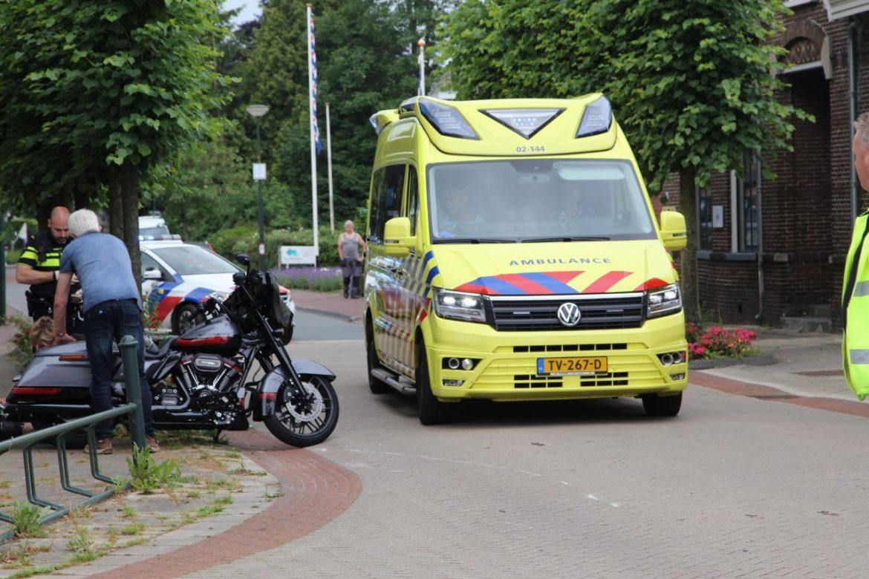 Motorrijder gewond na botsing met bestelbus in Lippenhuizen